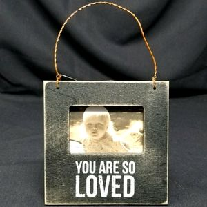 """""""YOU ARE SO LOVED"""" WOOD FRAME-PRIMITIVES BY KATHY"""